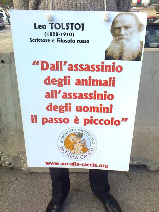 presidio caccia e pe 20130212 1237969841 - Presidio alla Fiera Caccia e Pesca di Riva del Garda 31.03.2012 - 2012-