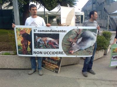 presidio caccia e pe 20130212 1736331010 960x300 - Presidio alla Fiera Caccia e Pesca di Riva del Garda 31.03.2012 - 2012-