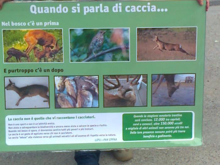 presidio caccia e pe 20130212 1900518925 - Presidio alla Fiera Caccia e Pesca di Riva del Garda 31.03.2012 - 2012-