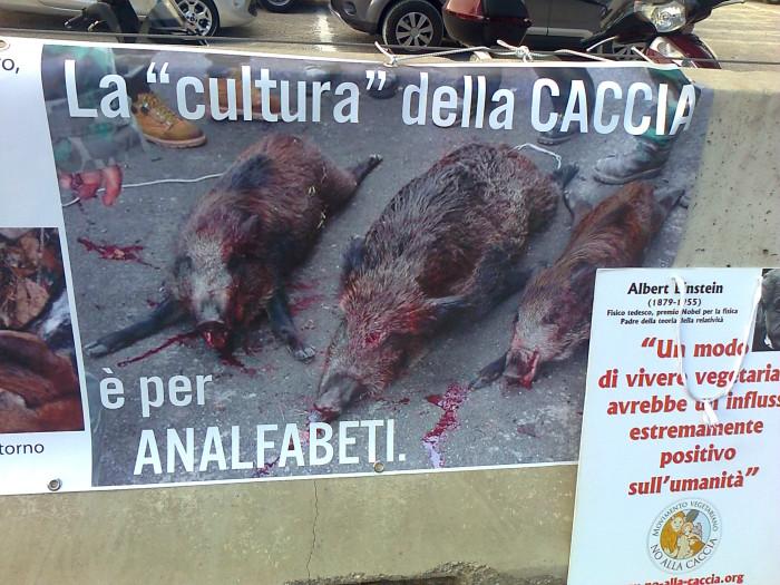 presidio caccia e pesca 20120331 1229531776 - Presidio alla Fiera Caccia e Pesca di Riva del Garda 31.03.2012 - 2012-