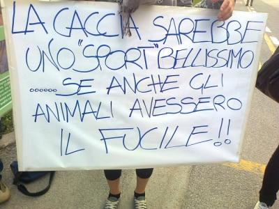presidio caccia e pesca 20120331 1327285951 960x300 - Presidio alla Fiera Caccia e Pesca di Riva del Garda 31.03.2012 - 2012-