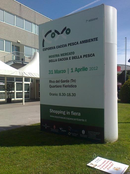 presidio caccia e pesca 20120331 1989072506 - Presidio alla Fiera Caccia e Pesca di Riva del Garda 31.03.2012 - 2012-