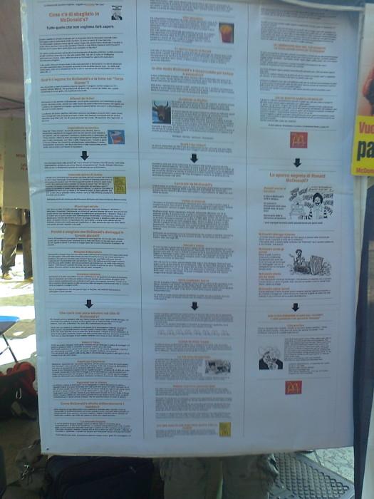 settimana veg mondiale   1 7 ottobre 20111016 1425032256 - TRENTO 15.10.2011- TAVOLO INFORMATIVO PER LA SETTIMANA VEGETARIANA MONDIALE - 2011-
