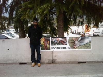 sit in animalista   fiera caccia e p 20130212 1166763869 960x300 - Riva del Garda 26.03 - Sit-in contro la fiera della caccia e della pesca