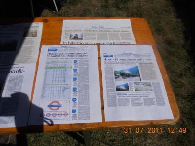 tavoli animal 20130212 1218255545 960x300 - FESTA DELLE ASSOCIAZIONI - LOC. 7 LARICI - COREDO (TN) - 31.07.2011