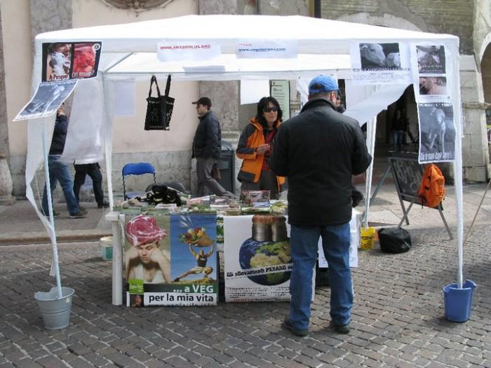 tavolo info massacro pasquale 20110419 1518521987 - 16 aprile 2011 - TAVOLO INFORMATIVO SU MASSACRO AGNELLI E CAPRETTI PERIODO PASQUALE - 2011-