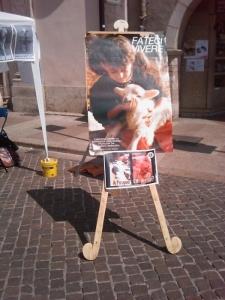 tavolo info sul massacro di agnelli e capretti a pa 20130212 1781499761 960x300 - 16 aprile 2011 - TAVOLO INFORMATIVO SU MASSACRO AGNELLI E CAPRETTI PERIODO PASQUALE