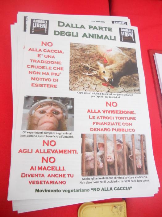 trento 03 dicembre fiaccolata 20111203 1220978987 - 03 dicembre 2011 Trento fiaccolata per denunciare lo sterminio degli animali nel periodo natalizio (e non solo!)