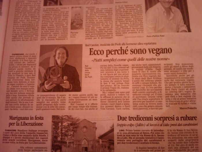 vegan fest 2011   camaiore 20110427 1661683063 - VEGAN FEST 2011- 22/25 APRILE - CAMARIORE