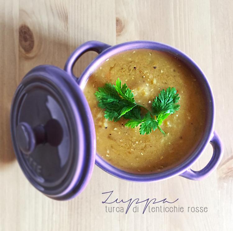zuppa lenticchie - Zuppa di lenticchie rosse