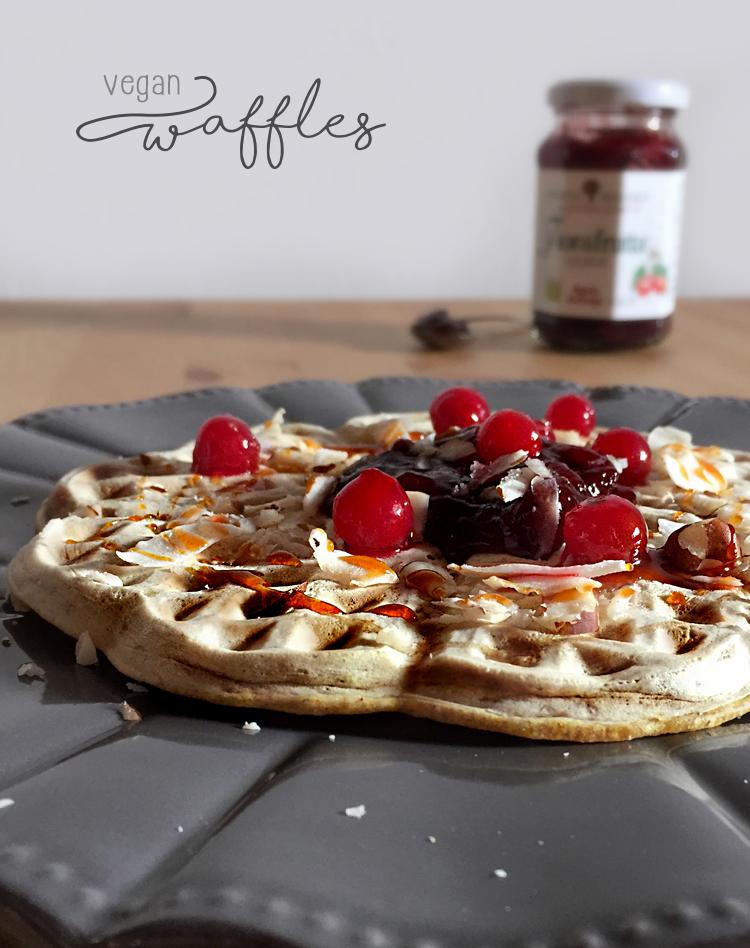waffles vegan 1 - Waffles