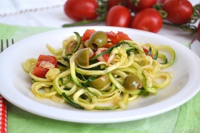 Spaghetti di zucchine1 640x427 1 - Spaghetti di zucchine - ricette-vegane-dal-web-
