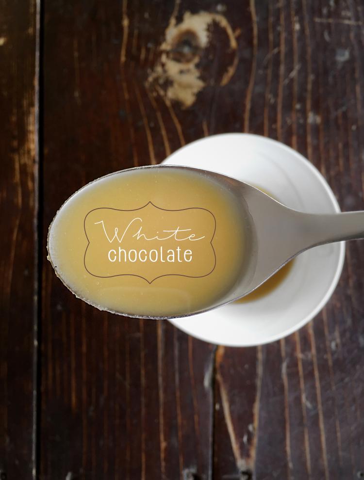 cioccolato bianco 1 - Cioccolato bianco alla rosa canina