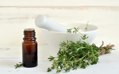 olio essenziale di timo 400x250 1 - Olio essenziale di timo: proprietà e utilizzi - ricette-vegane-dal-web-