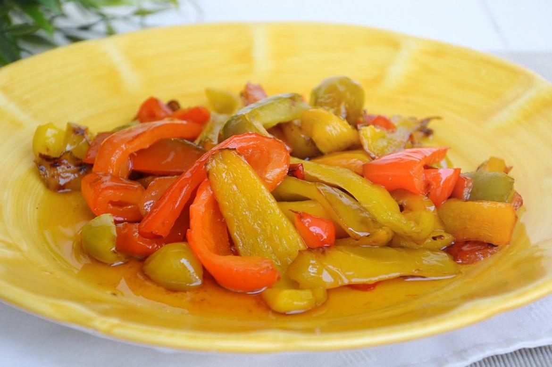 Peperoni in agrodolce 1 1 - Peperoni in agrodolce - ricette-vegane-dal-web-
