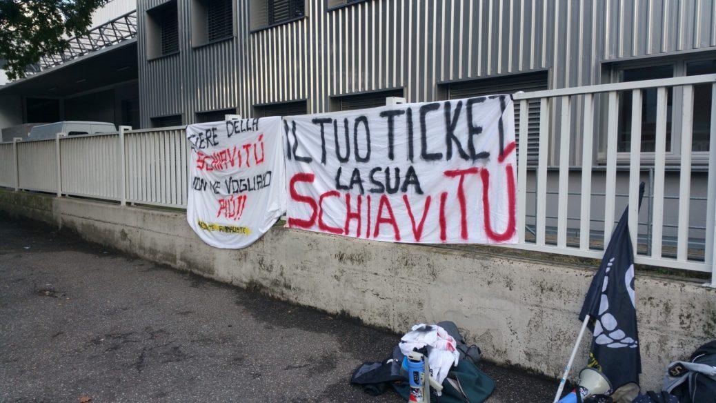 20161015 160833 1038x584 - Fronte animalista Bolzano - Manifestazione Porte aperte 10 anni della casa della zootecnia