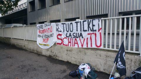 20161015 160833 480x270 - Fronte animalista Bolzano - Manifestazione Porte aperte 10 anni della casa della zootecnia