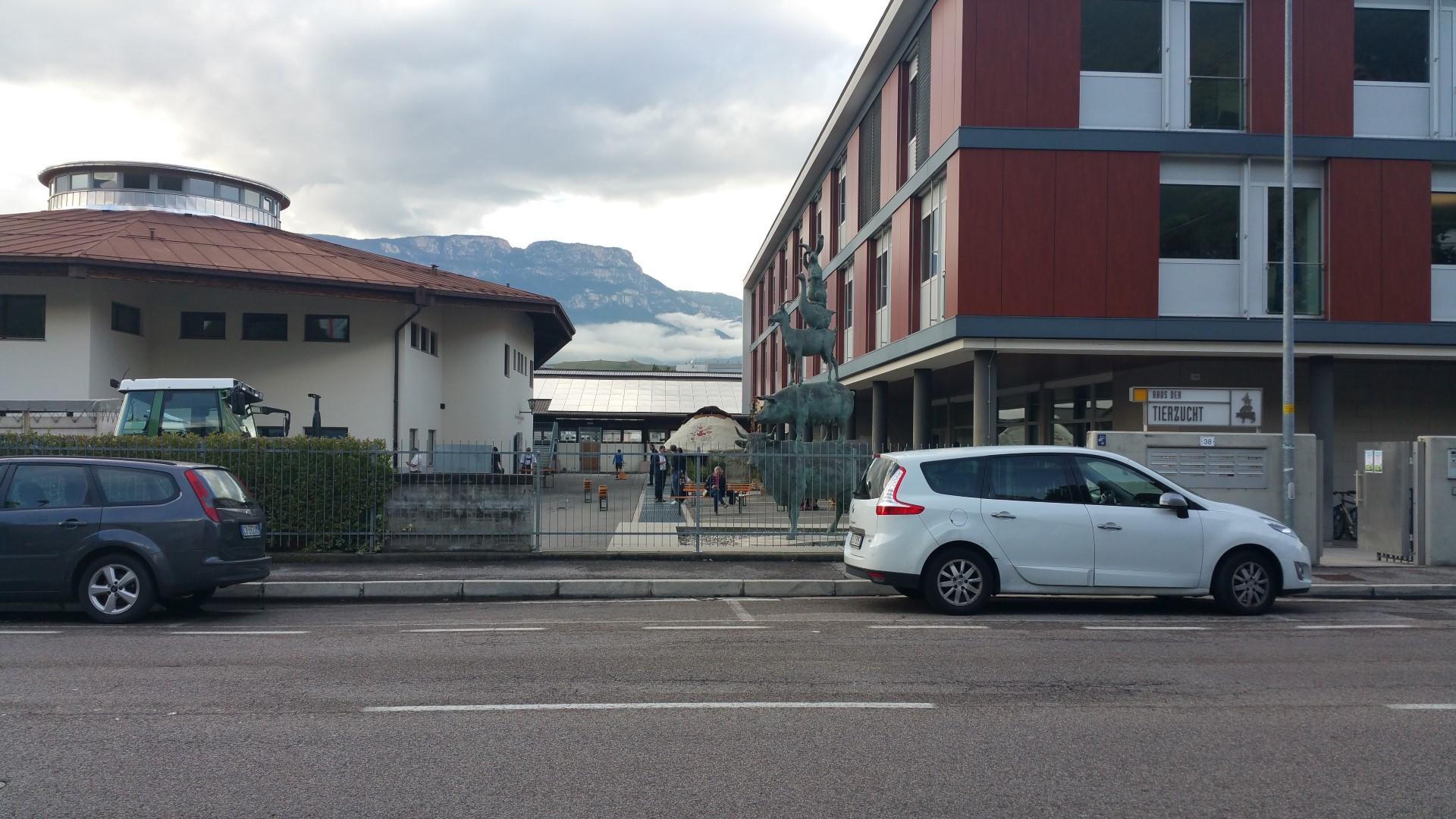 20161015 160854 - Fronte animalista Bolzano - Manifestazione Porte aperte 10 anni della casa della zootecnia