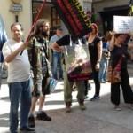 IMG 20170730 WA0012 150x150 - Presidio organizzato dal Fronte Animalista per l'aggressione all'Orso a Trento - immagini, 2017-