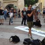 IMG 20170730 WA0033 150x150 - Presidio organizzato dal Fronte Animalista per l'aggressione all'Orso a Trento - immagini, 2017-