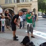 IMG 20170730 WA0038 150x150 - Presidio organizzato dal Fronte Animalista per l'aggressione all'Orso a Trento - immagini, 2017-