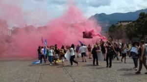 IMG 20170819 WA0078 300x169 - Manifestazione presidio per l'uccisione dell'orso Kj2 - Sabato 19 Agosto
