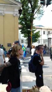 IMG 20170819 WA0081 169x300 - Manifestazione presidio per l'uccisione dell'orso Kj2 - Sabato 19 Agosto